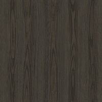 Tanice Dark Brown Faux Wood Texture Wallpaper