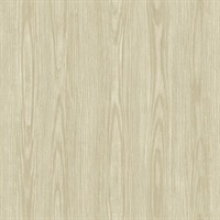 Tanice Eggshell Faux Wood Texture Wallpaper