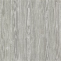Tanice Taupe Faux Wood Texture Wallpaper