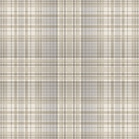 Check Plaid Wallpaper in Beige, Coffee & Grey