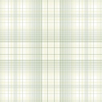 Check Plaid Wallpaper in shades of Green