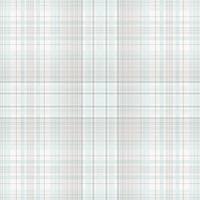 Check Plaid Wallpaper in Turquoise & Greys
