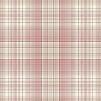 Check Plaid Wallpaper Reds & Beige