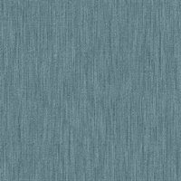 Chenille Blue Faux Linen Wallpaper