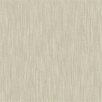 Chenille Light Brown Faux Linen Wallpaper