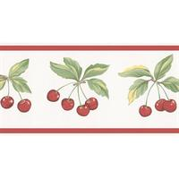 Cherry Wallpaper Border