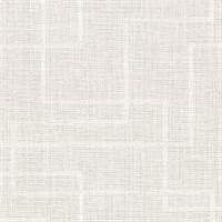Clarendon Grey Faux Grasscloth Wallpaper