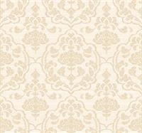 Classic Damask On Silk