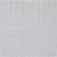 Classic Stripe Paintable Wallpaper - White