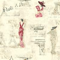Classic Weekend In Paris Toile