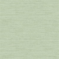 Colicchio Light Green Linen Texture Wallpaper