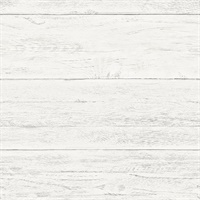Colleen White Washed Boards Wallpaper
