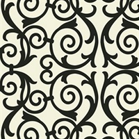 Contemporary Ironwork Scroll