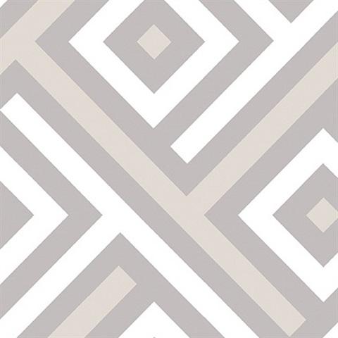 GT20308 Geometric Wallpaper Book By Seabrook Designs