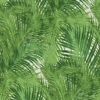 Cora Green Palms Wallpaper