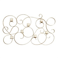 Corinne 7 Candle Wall Sconce