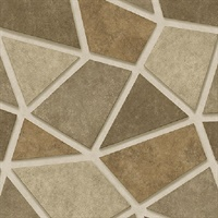 Coty Gold Mosaic Wallpaper