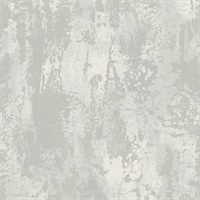Crackle Plaster Metallic Wallpaper