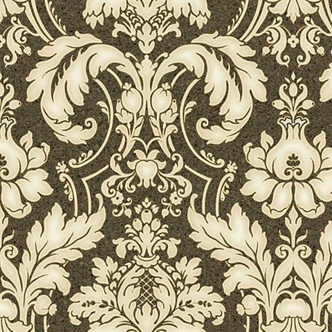 Home wallpaper of all styles free shipping free samples - Tapete schwarz gold ...