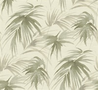 Darlana Sage Grasscloth Wallpaper