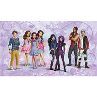 Descendants Animated Pre-Pasted Mural