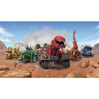 DinoTrux Pre-Pasted Mural