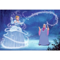 Disney Cinderella Magic Pre-Pasted Mural