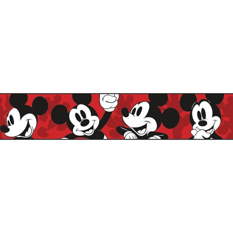DY0215BD Disney Classic Mickey Mouse Border