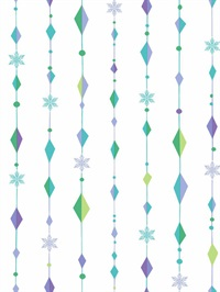 Disney Frozen Snowflake Diamond Wallpaper