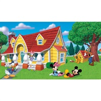 Disney Mickey & Friends Pre-Pasted Mural