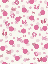 Disney Minnie Mouse Bows & Dots Wallpaper