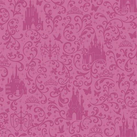 DS7612 Disney Princess Royal Debut TotalWallcoveringCom