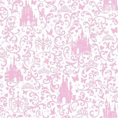 DS7614 Disney Princess Royal Debut TotalWallcoveringCom