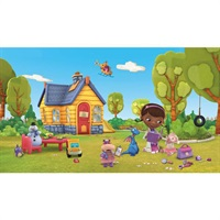 Doc McStuffins Pre-Psted Mural
