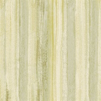 Donella Green Stripe  Wallpaper