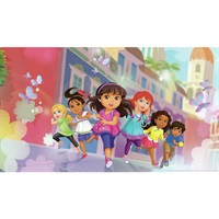Dora and Friends Pre-Pasted Mural