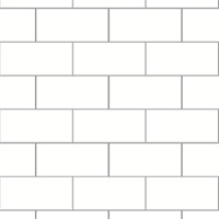 Easton Off-White Subway Tile Wallpaper