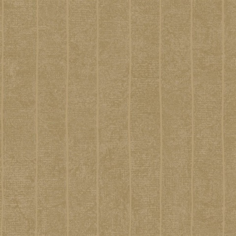 Brown Vertical Striped Wallpaper