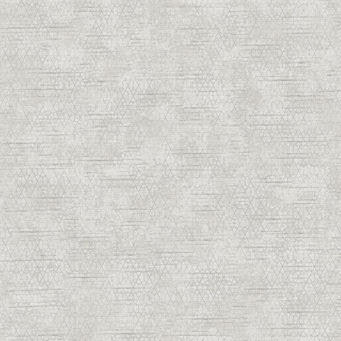 Elias Light Grey Gridline Wallpaper