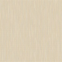 Emeril Champagne Faux Grasscloth Wallpaper