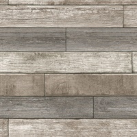 Emory Multicolor Reclaimed Wood Plank Peel and Stick