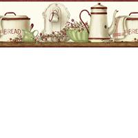 Enamelware Shelf Border