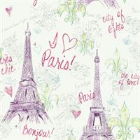 Paris Girls Toile