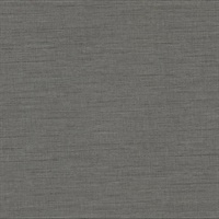 Essence Dark Grey Linen Texture Wallpaper