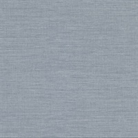 Essence Light Blue Linen Texture Wallpaper