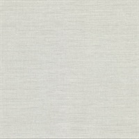 Essence Light Grey Linen Texture Wallpaper