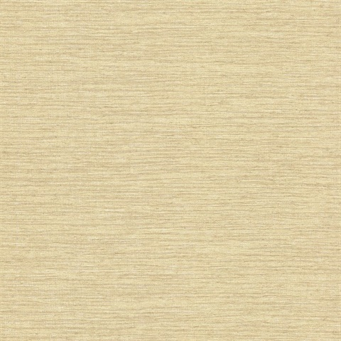 Everest Yellow Faux Grasscloth Wallpaper