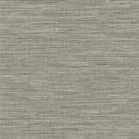 Exhale Grey Faux Grasscloth Wallpaper