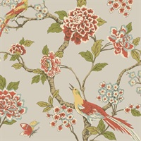 Ashford Toiles Fanciful Wallpaper