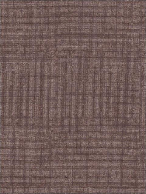 Faux Linen Purple on Copper